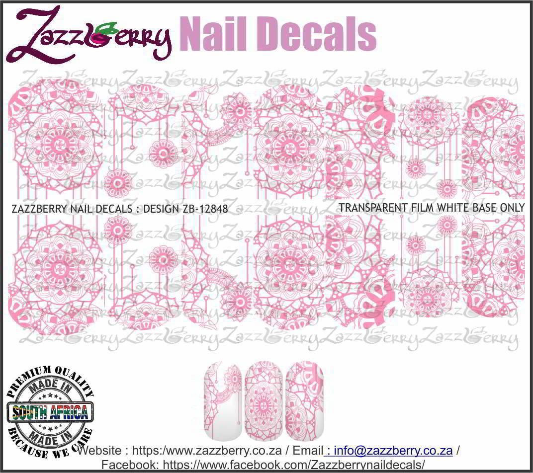 Pink Mandala Lace