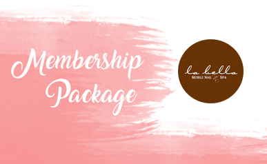 Spa Manicure and Pedicure Membership Package of 6