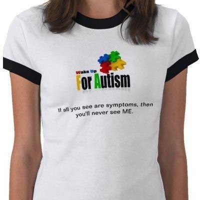 WakeUpForAutism T-shirt Size Large