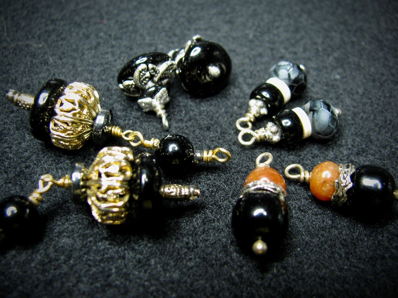 Black Stone Beads
