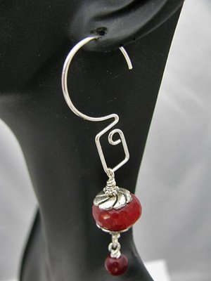 Sterling Rectangular Interchangeable Earrings