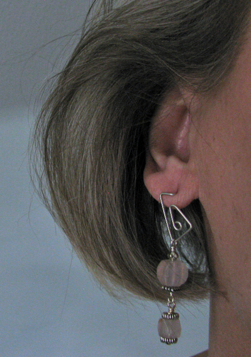 Interchangeable Triangular Post Earrings