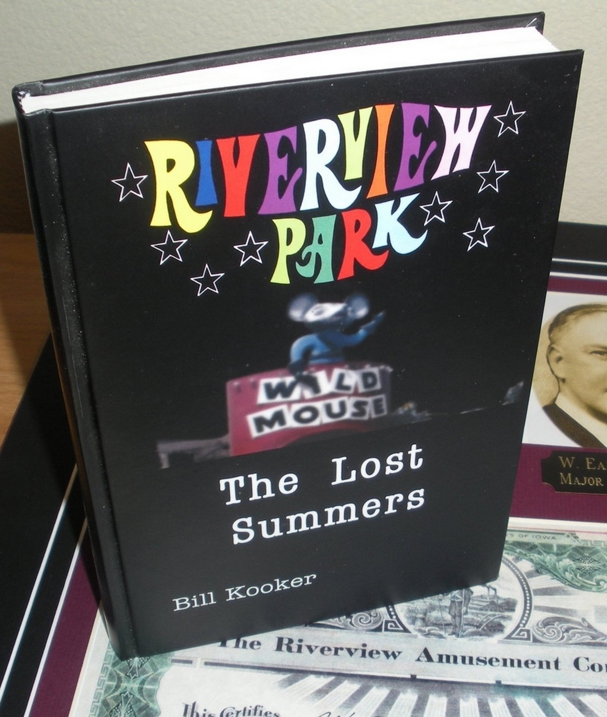 Riverview Park: The Lost Summers book -Hard Cover, ImageWrap