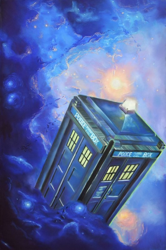 TARDIS - Canvas Print