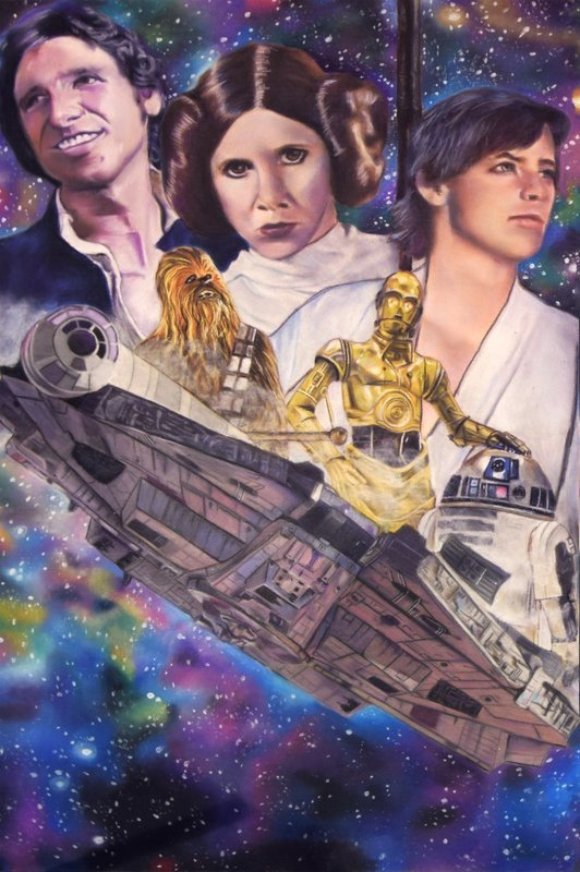 Star Wars - A New Hope - Canvas Print