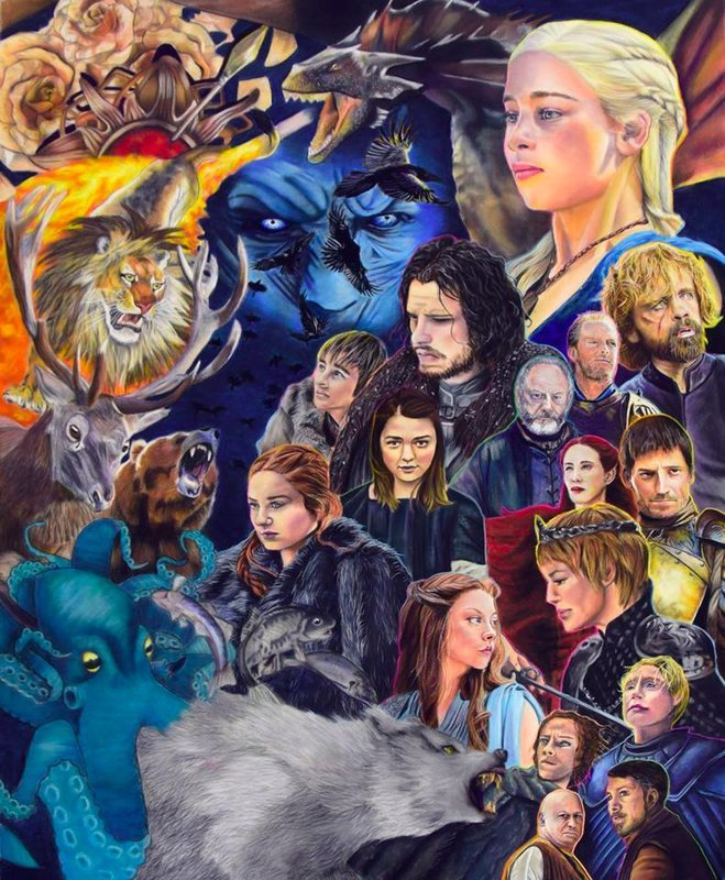 Game of Thrones - Canvas Print