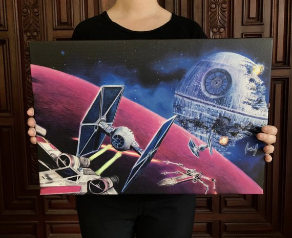 Death Star - Canvas Print