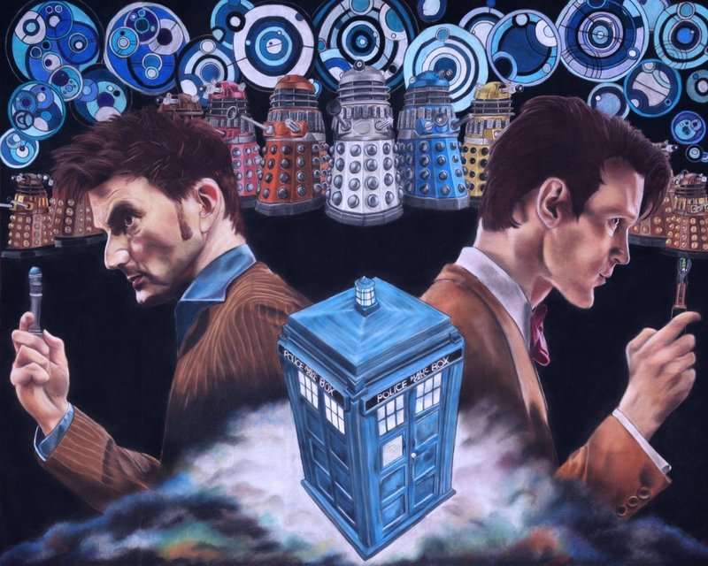 Doctor Who - Canvas Print