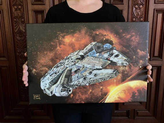 Millenium Falcon - Canvas Print