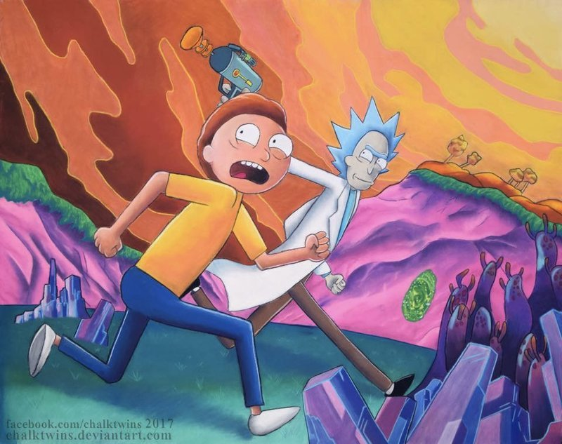Rick and Morty - Canvas Print