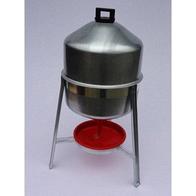 drinktoren 30 liter  metaal 00335