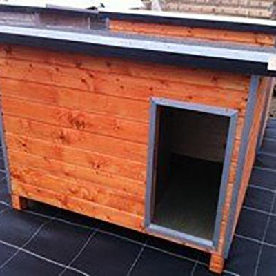 Hondenhok WOOD 3 bruin ISO 00212
