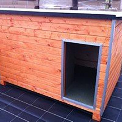 Hondenhok WOOD 5 bruin ISO 00216