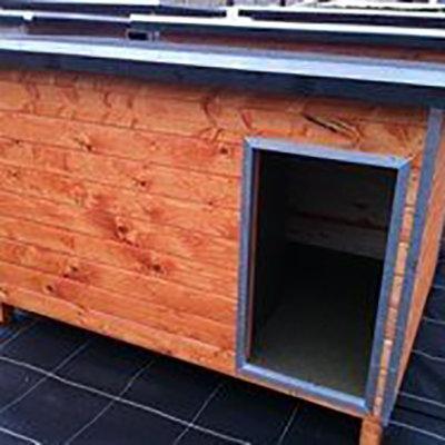 Hondenhok WOOD 4 bruin 00195