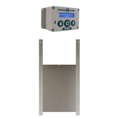 Chickenguard  Premium batterij SET MET SCHUIF 25 x 30 cm 00352