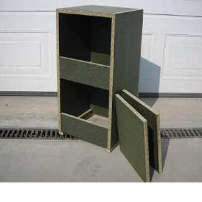 houten legnest  basic 00402