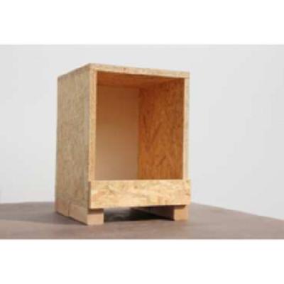 houten legnest  OSB enkel 00403