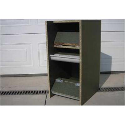 houten legnest  Deluxe antipik 00405