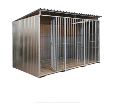 Metallo hondenren gesloten 2 x 3 m 00466