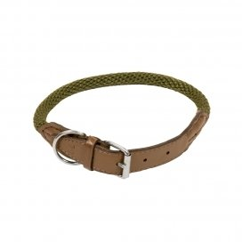 HALSBAND FOREST S-M - 55cm groen 00959