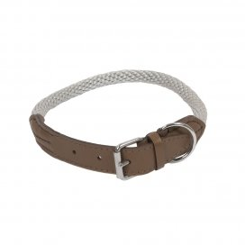 HALSBAND FOREST M-L - 65cm taupe 00970