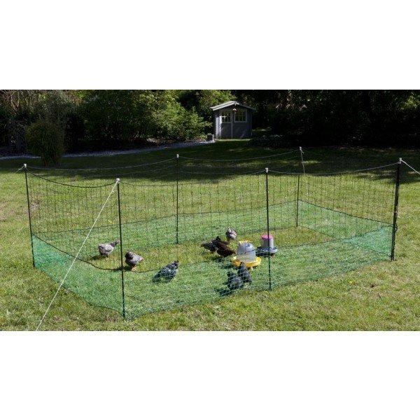 verplaatsbare omheining SUPERPROMO met hek