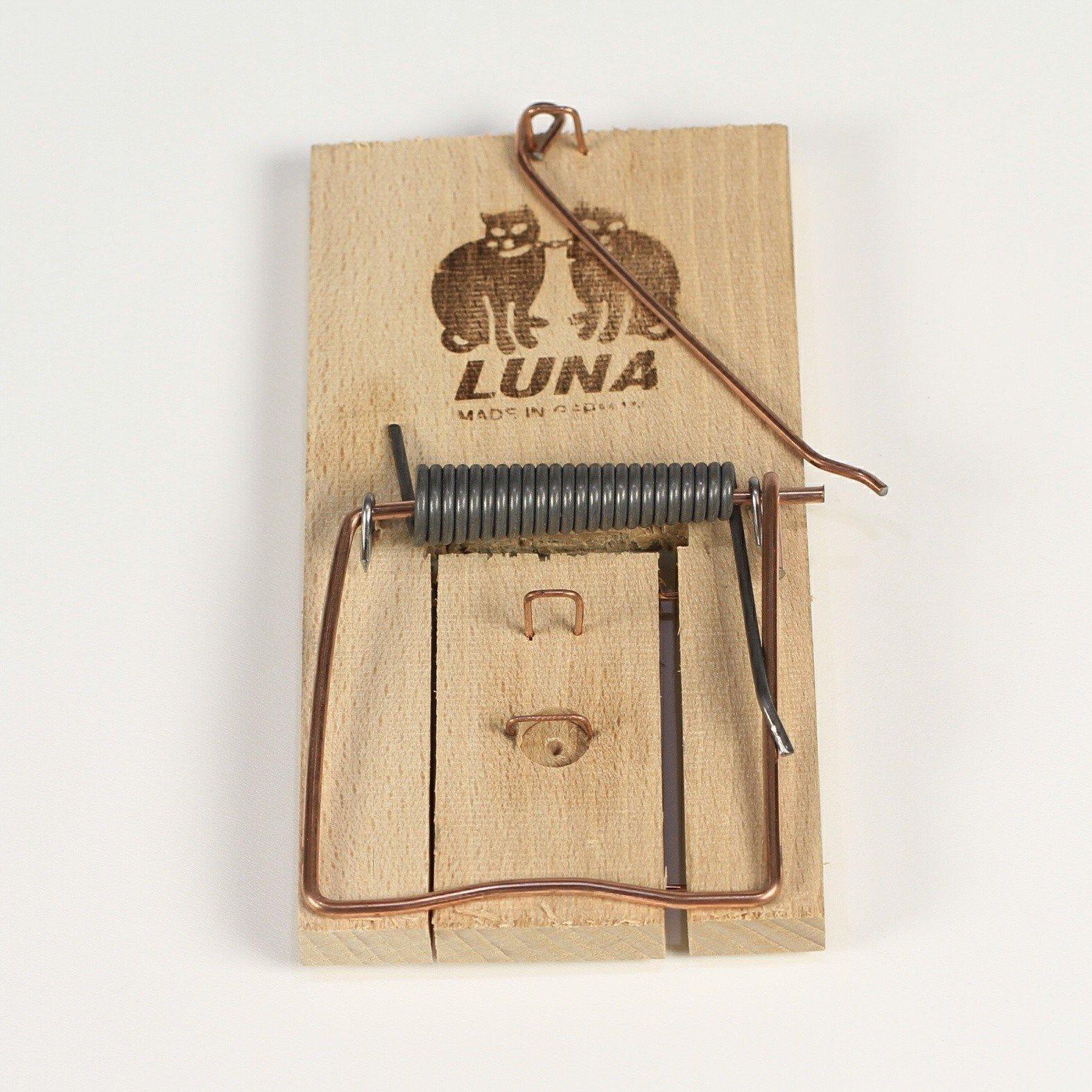 Houten rattenval Luna 01118