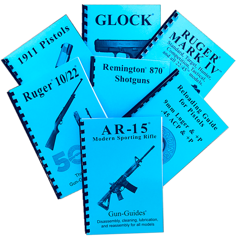 ALL DEALER GUN-GUIDES Disassembly & Reassembly, Ruger Complete Guides, and Reloading Guides - ALL ON ONE PAGE with (12) as the default quantity. Simply change default to your required amount.
