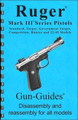 Ruger®  Mark III Series Pistols Gun-Guides® Disassembly & Reassembly for All Models