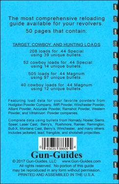 Reloading Guide Revolvers  44 SPL &  44 Magnum Gun-Guides®