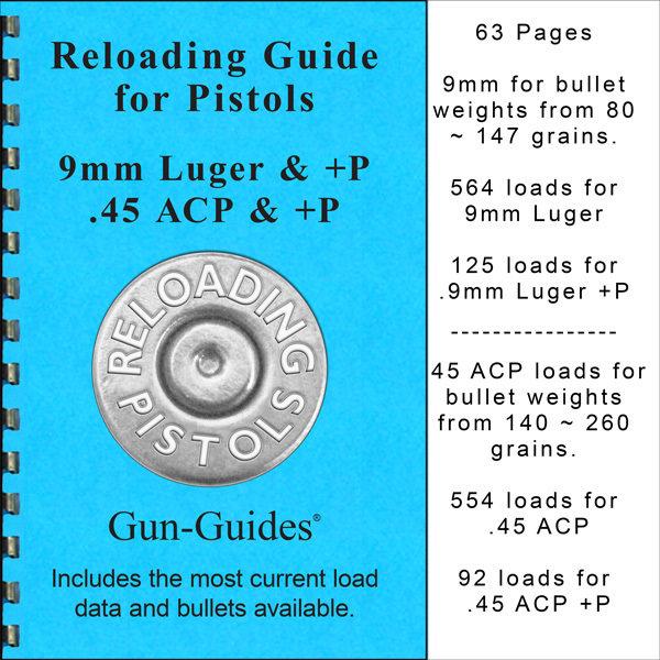 Reloading Guide - Pistols Gun-Guides®