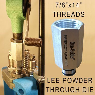 UNIVERSAL Perfect Powder Measure Adapter™ for Handguns by Gun-Guides®
