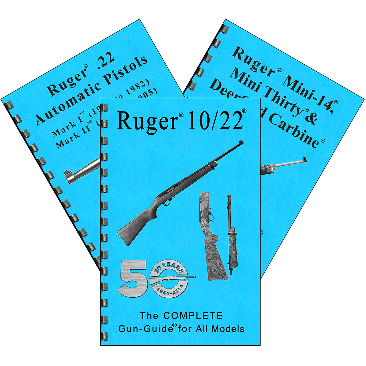 DEALER RUGER COMPLETE GUIDES (3)