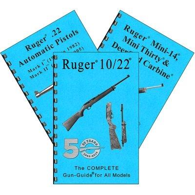 DEALER RUGER COMPLETE GUIDES (3)