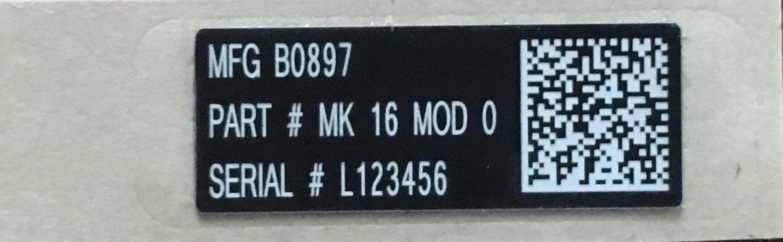 """FNH SCAR 16/17 UID 1.25""""x.5"""""""