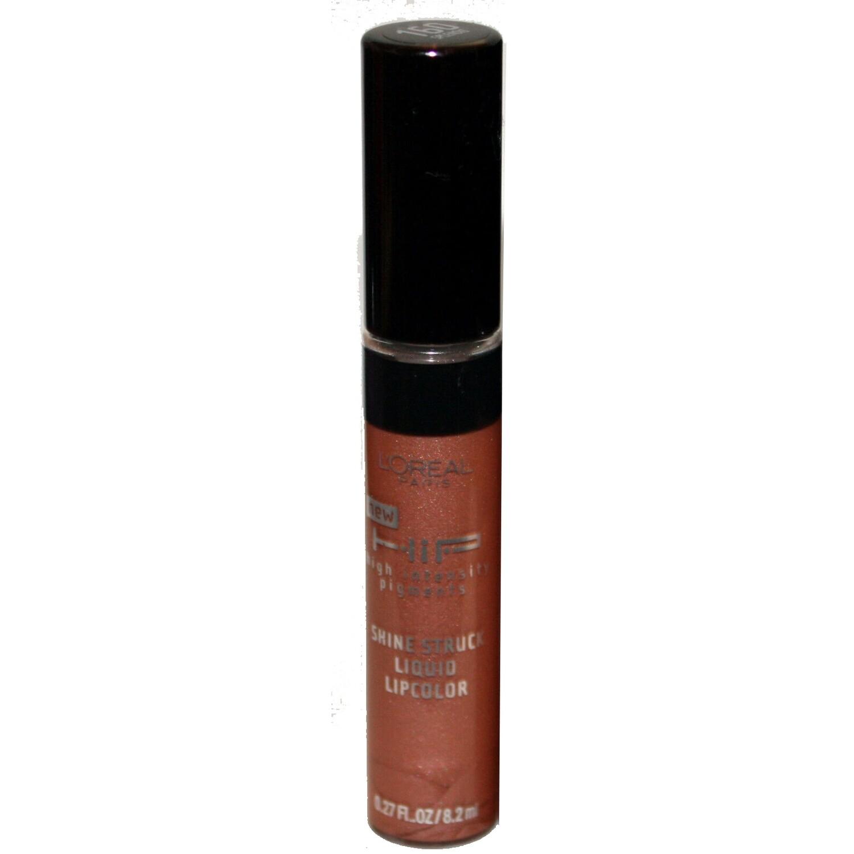 2 L'Oreal HIP Shine Struck Liquid Lip Color Gloss #160 SPLENDID .27 oz