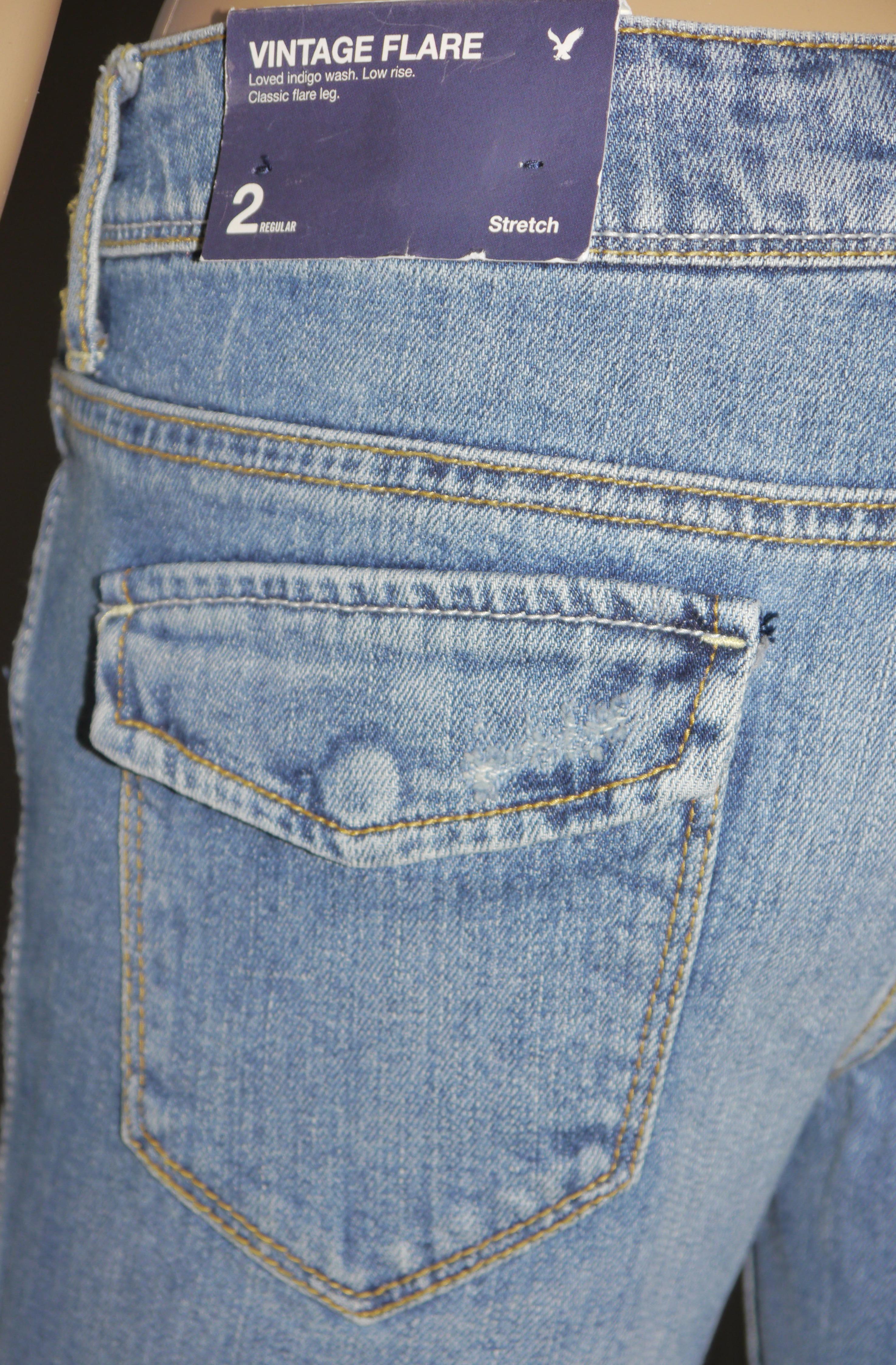 left rear pocket