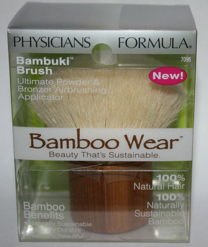 Physicians Formula Bamboo Wear Bambuki Kabuki Brush 08999