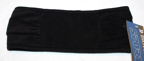 "Isotoner Sport Women's 3 ½"" Black Fleece Headband (One Size) 08867"