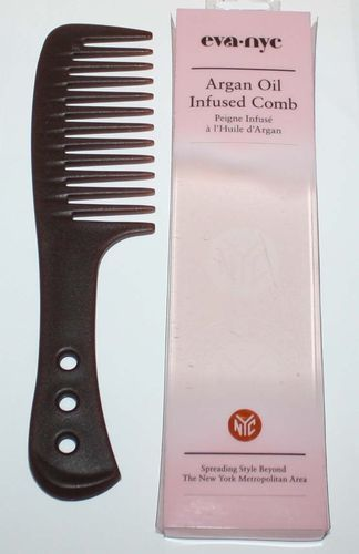 EVA nyc ARGAN OIL Infused Long Comb 08473