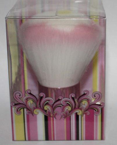 Aymie B' GOTTA B URBAN Pink, White & Yellow Flower Kabuki Brush 08158
