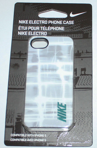 Nike ELECTRO Hard Phone Case For iPhone 5 #NIA99089NS 08074