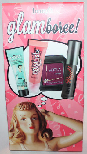 Benefit GLAMBOREE! Primer, Mascara, Brozner & Lip Gloss 07989