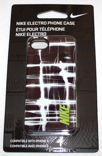 Nike ELECTRO Hard Phone Case For iPhone 5 #NIA99023NS 07982
