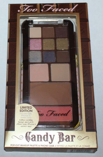 Too Faced Candy Bar Palette For Eyes & Face + Phone Case For iPhone 5 series 07613