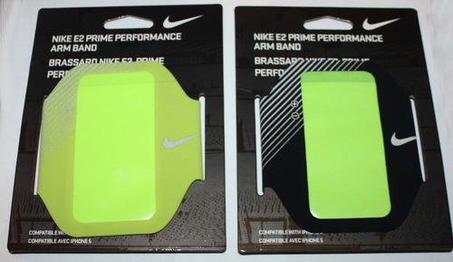 Nike E2 Unisex Prime Performance Adjustable Arm Band For iPhone 5 07584