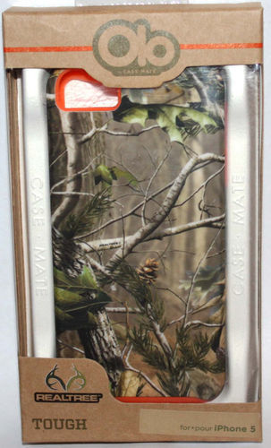 OLO By Case Mate Realtree TOUGH iPhone 5 Hard Shell Protective Phone Case 07470