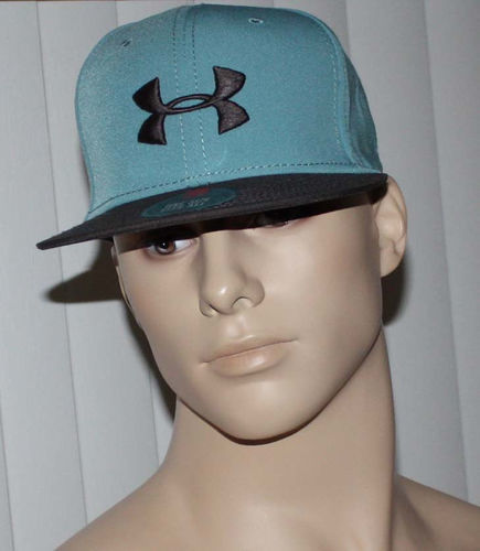 Under Armour Heatgear Men's Two-Toned Teal & Taupe Cap Hat (One Size) 07433