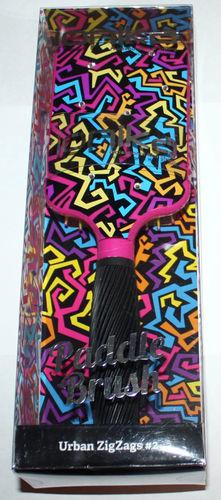 IONIKA URBAN ZIGZAGS #2 Rhinestone Embellished Large Paddle Hair Brush 07417