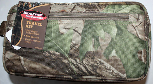 ​Bill Jordan Realtree Hardwoods Camo Travel Kit Case 07321